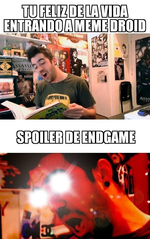 Spoilers no - meme