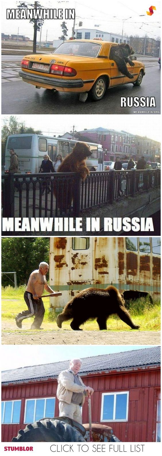 russiA BE LIKe - meme