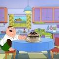 Peter Griffin encontró un pastel