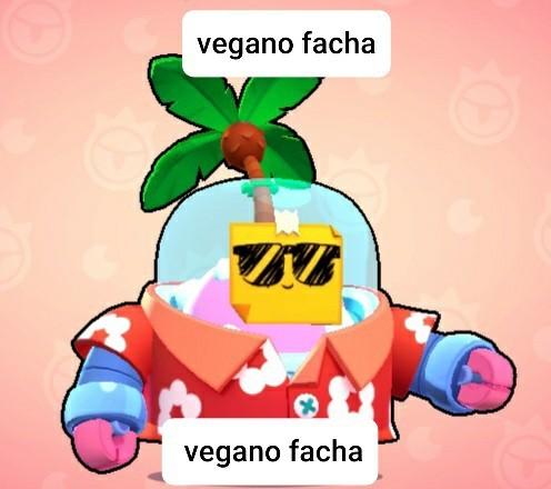 Vegano facha - meme