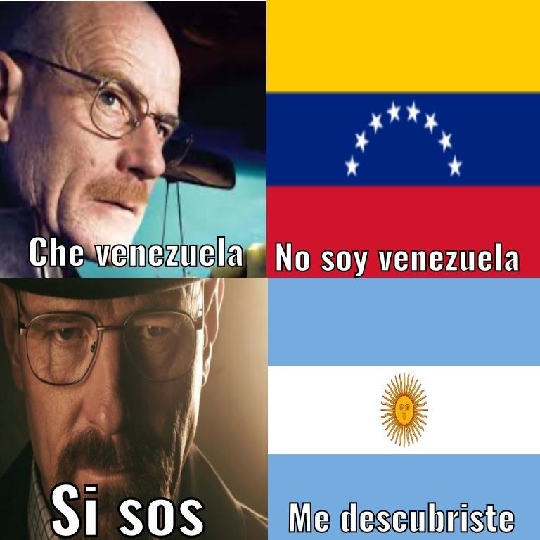 venezuela como pudiste  - meme