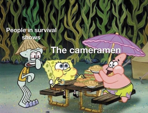 The camera man: - meme
