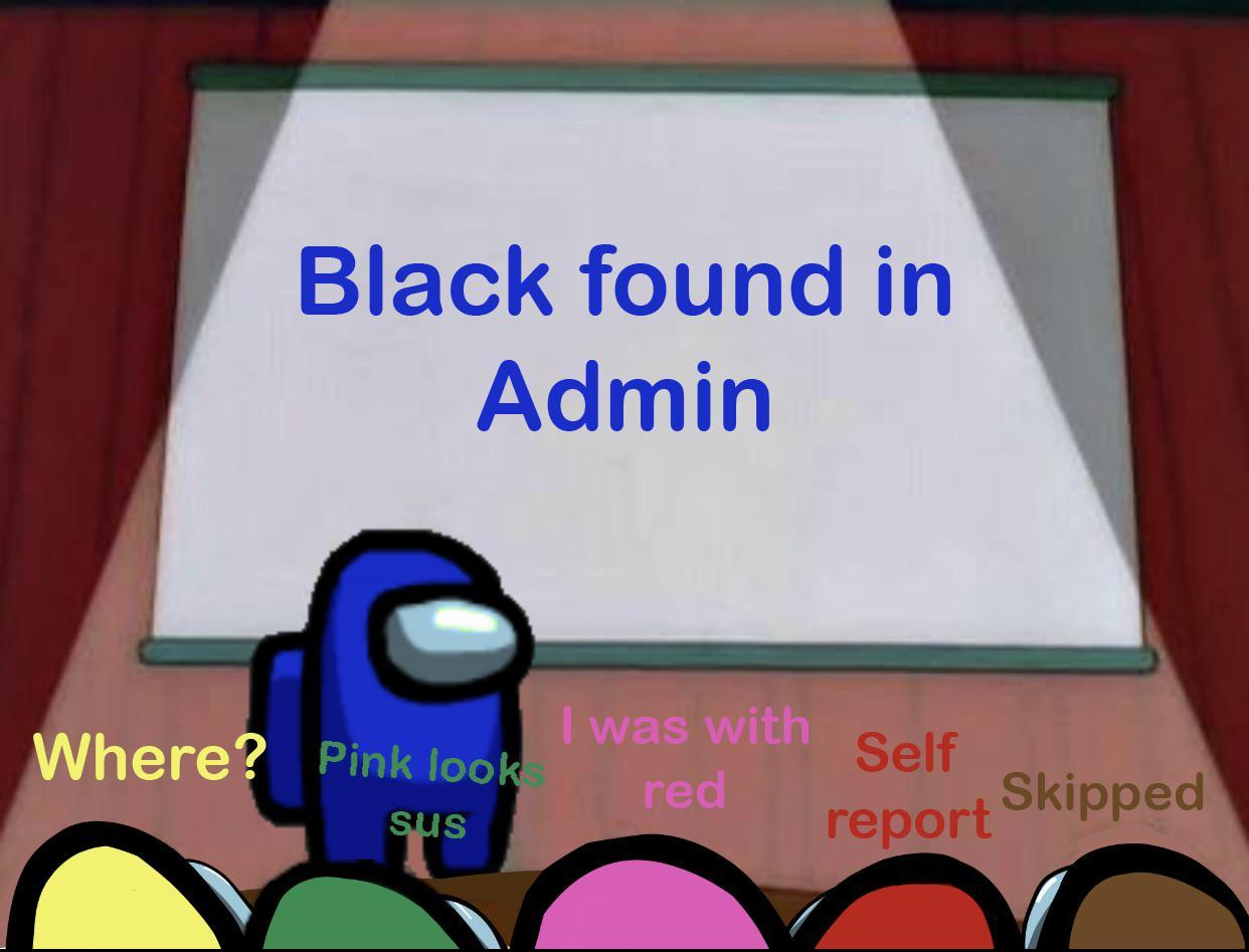 i saw pink vent - meme