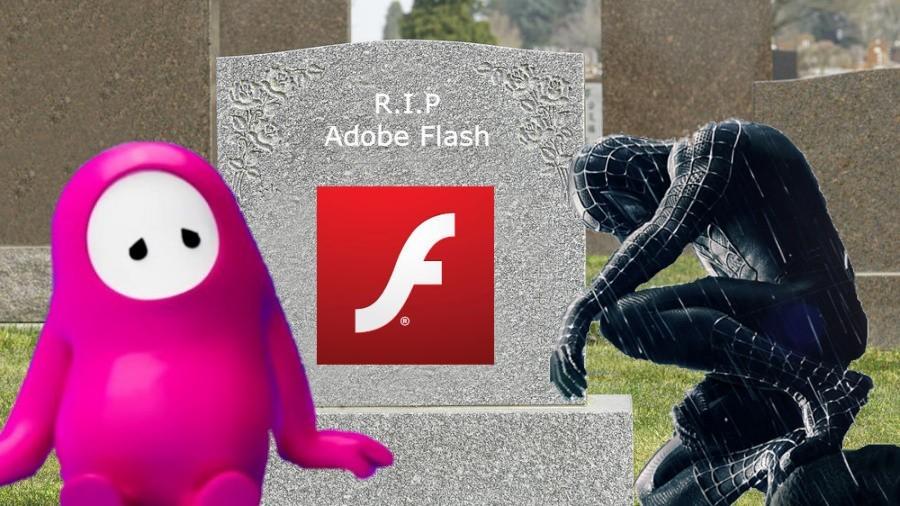 Adiós Flash Player - meme