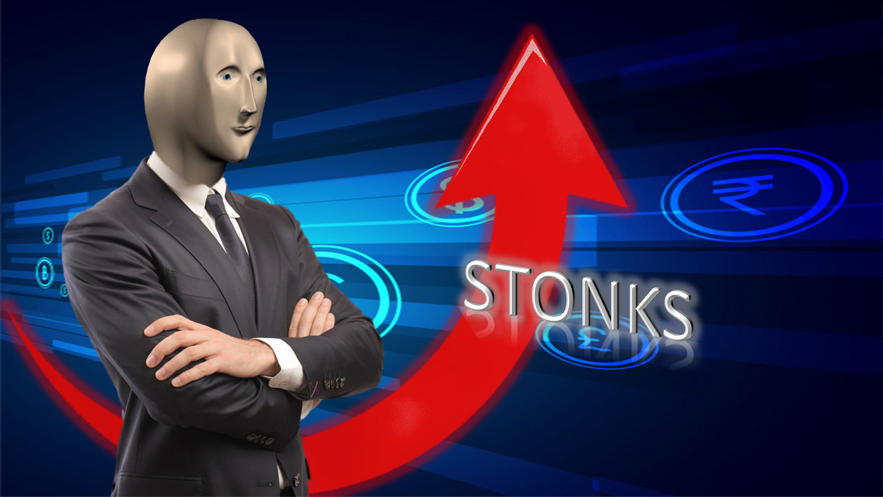 STONKS en HD. - meme