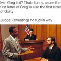 Guilty Greg