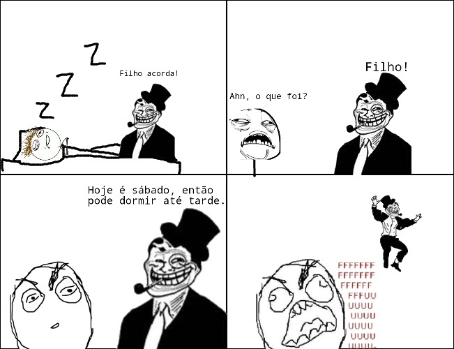 Troll Dad - meme