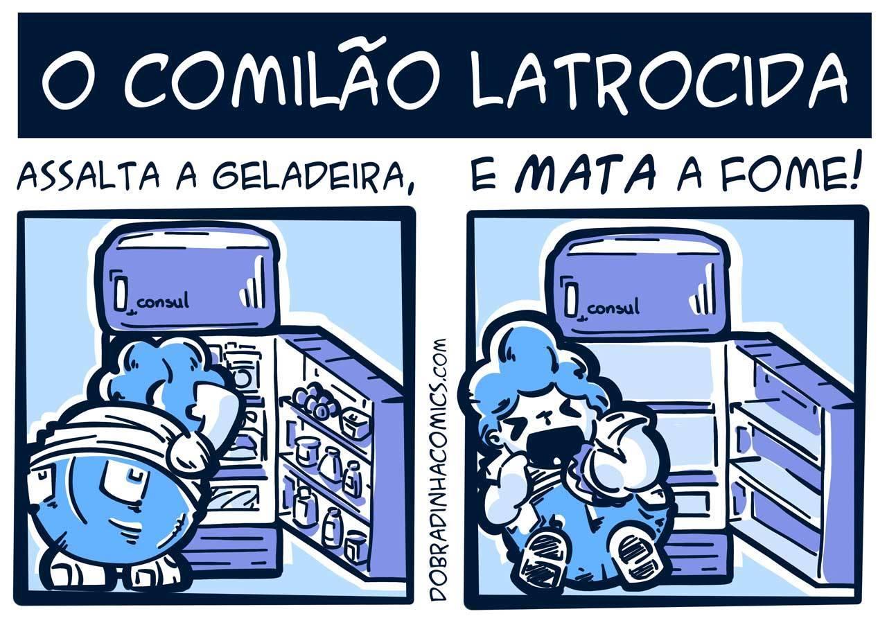 Comilão Latrocida - meme