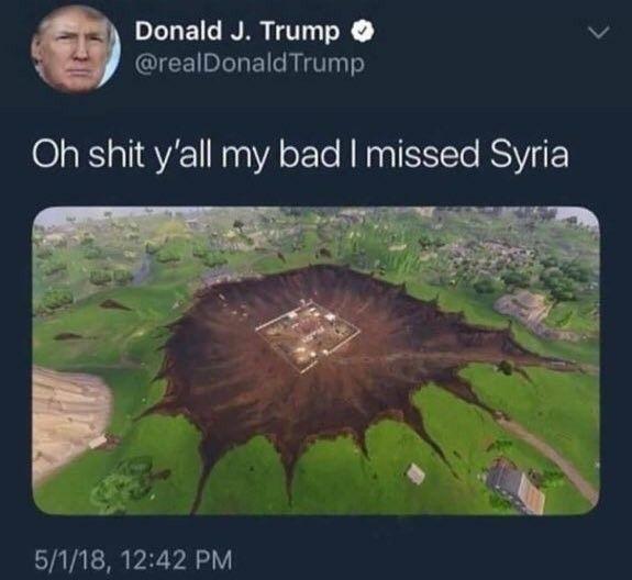 Ste Trump - meme