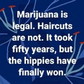 Hippies Win