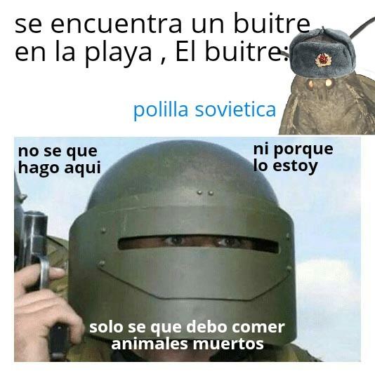 Buitre - meme