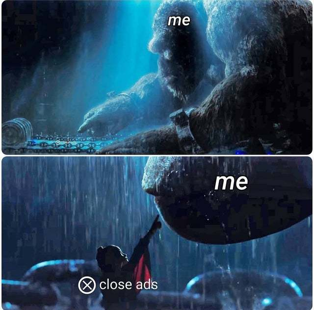 Attack on finger - meme