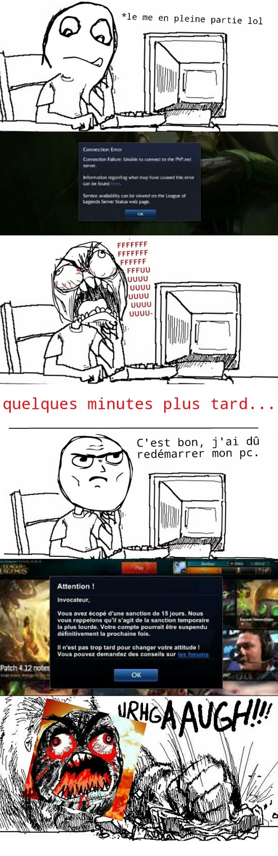 Crash sur league of legend - meme