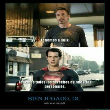 Bien hecho DC - meme