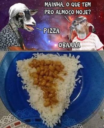 Pizza de jegue - meme