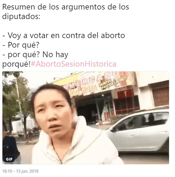 Aborto legal pls - meme