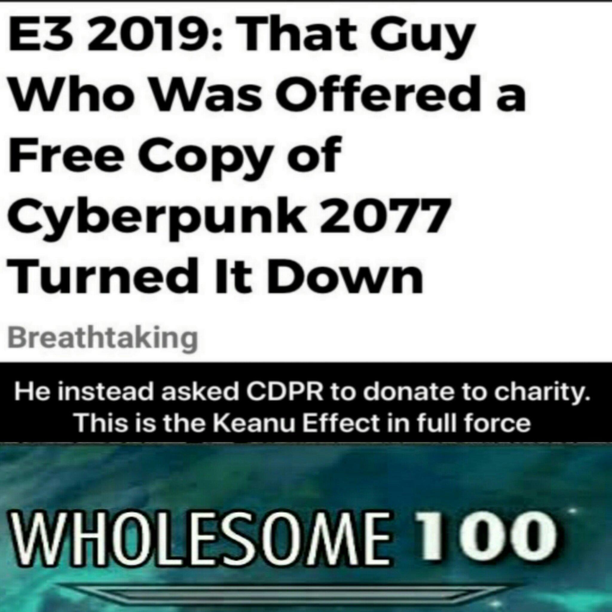 Keanu 3 - meme