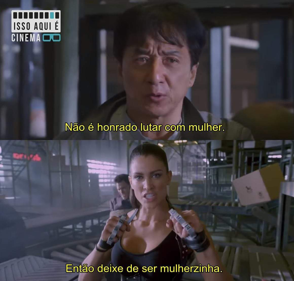 Fora do rumo (2016) - meme