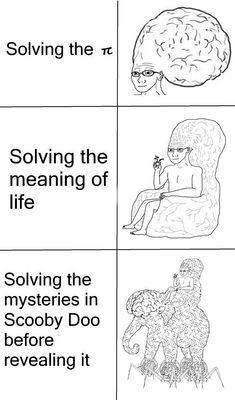 I haven't solved shit - meme
