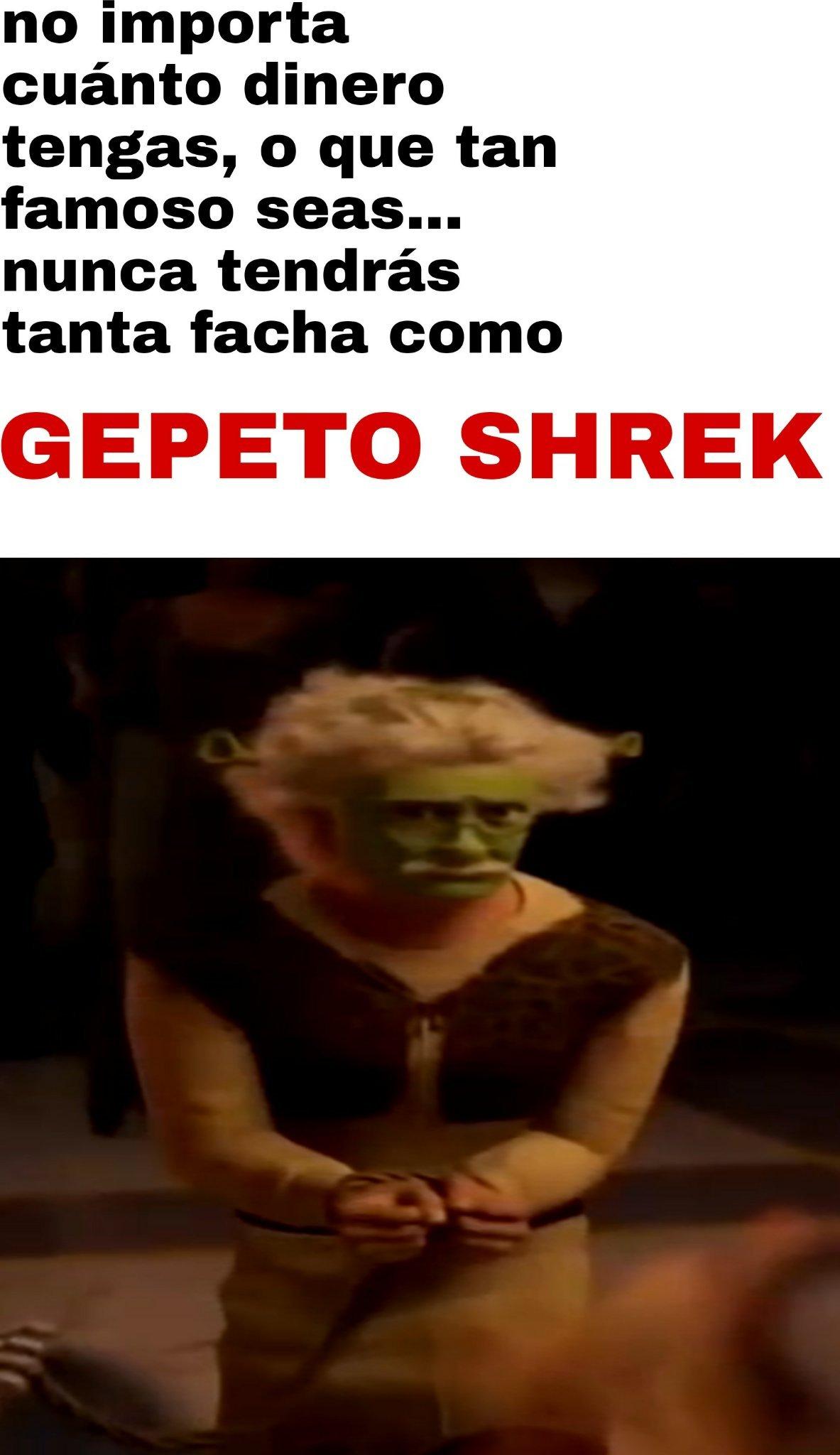 GEPETO SHREK - meme