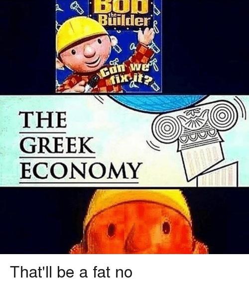 Greek economy - meme