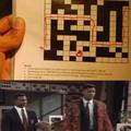 Confusion in crosswords