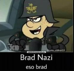 Brad nazi, epico - meme