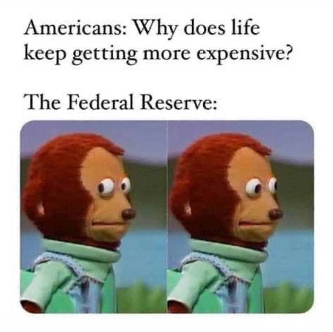 The Federal Reserve issues FAKE MONEY! - meme