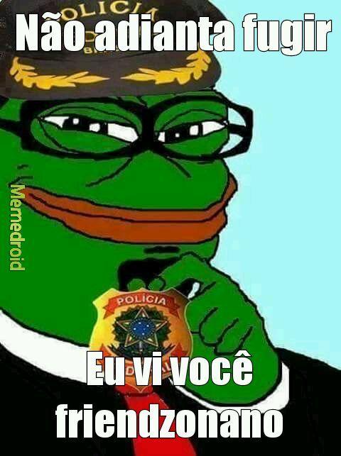 Feels policial - meme