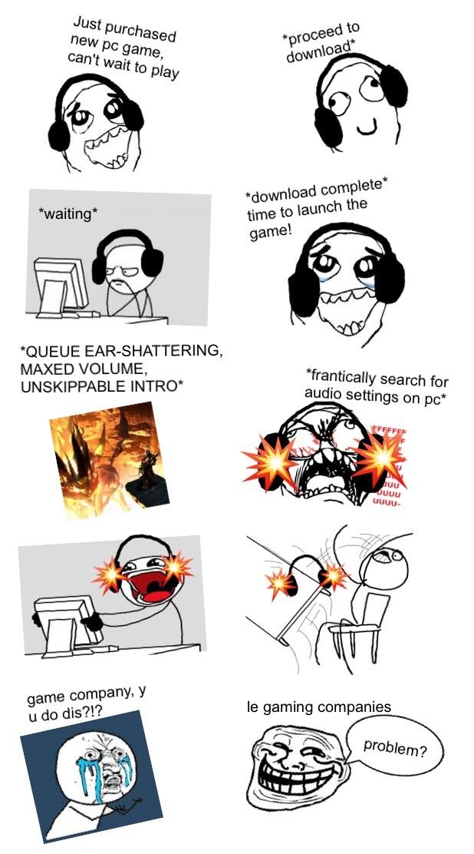 dem PC games - meme