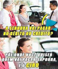 Ciro guerreiro do povo brasileiro - meme