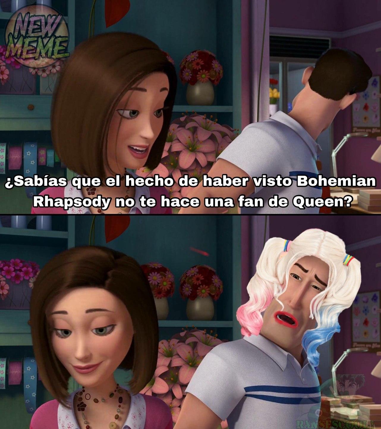"""Ese Bohemian Rhapsody es todo un loquillo"" - meme"