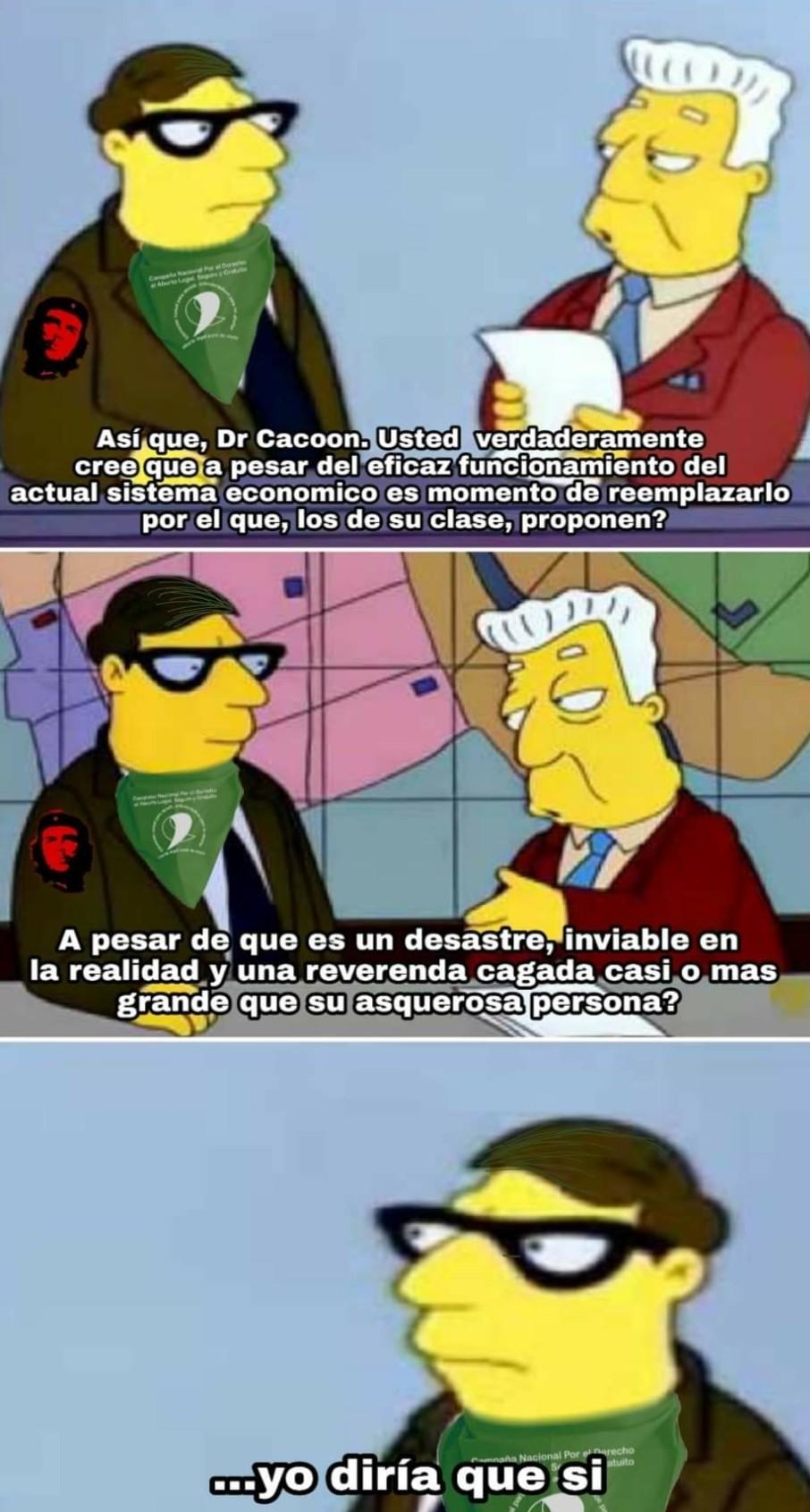 Sistema casi perfecto CAPITALISMO - meme