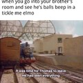 Thomas the confused engine