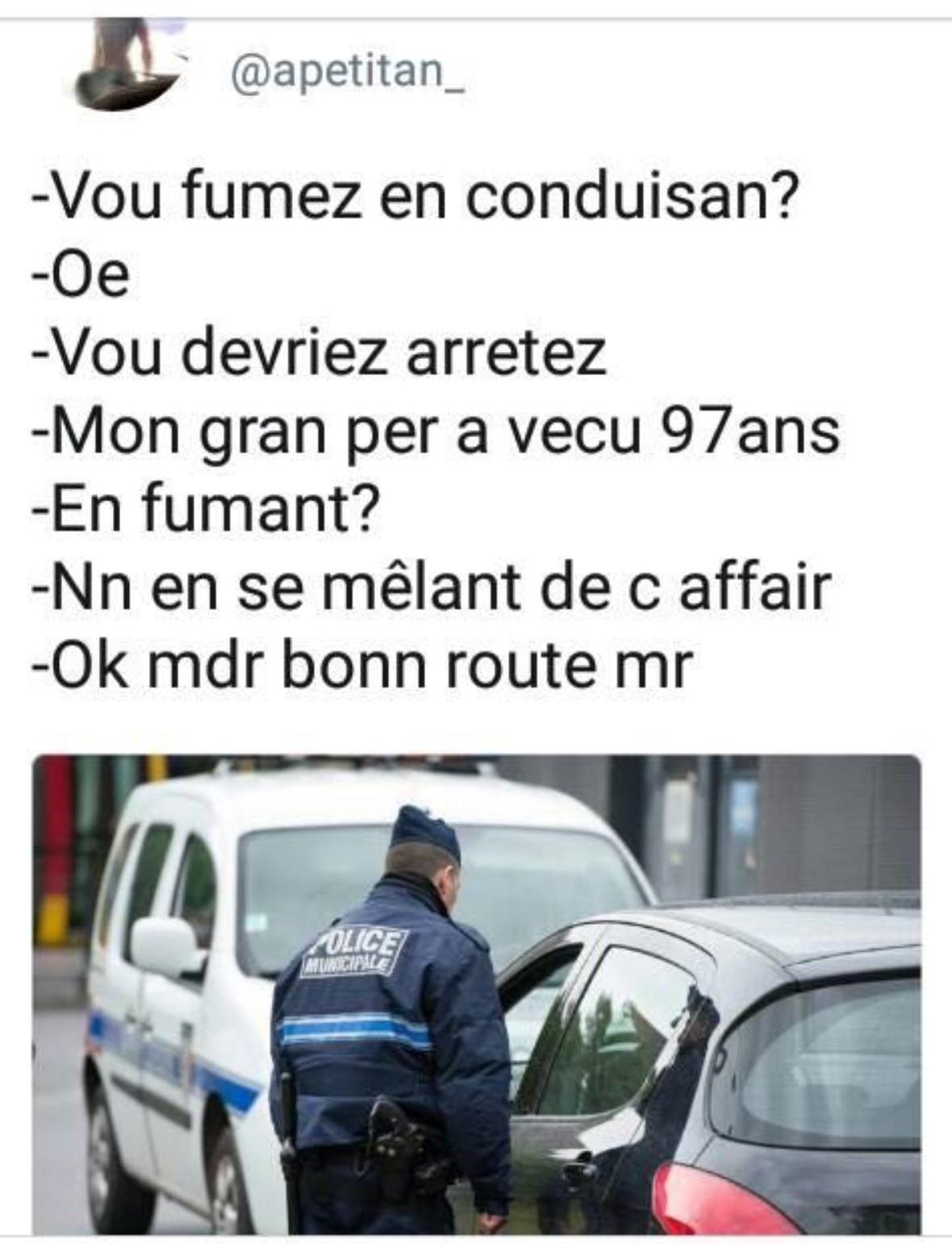 Bang bang la police - meme