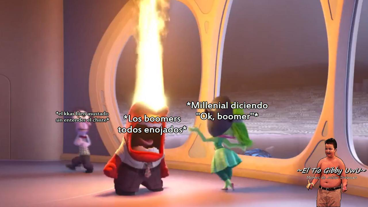 Ok, boomer. - meme