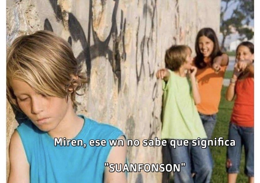 SUANFONSON - meme