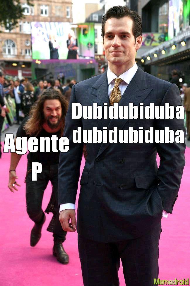 Perry el ornitorrinco - meme