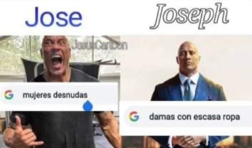 Joseph un hombre de respeto - meme