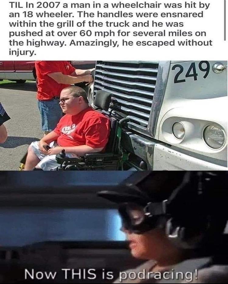pod racing - meme