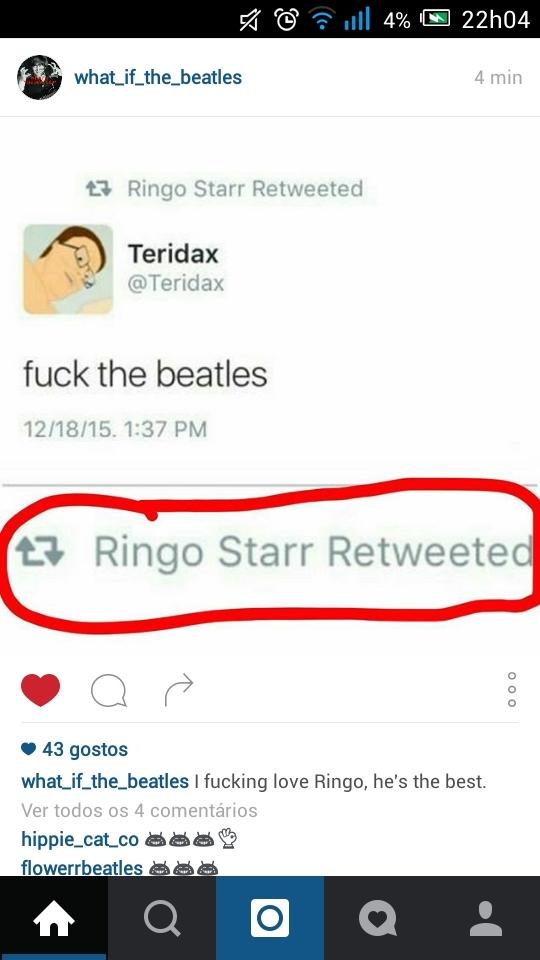 RINGO Hahahahahhah - meme