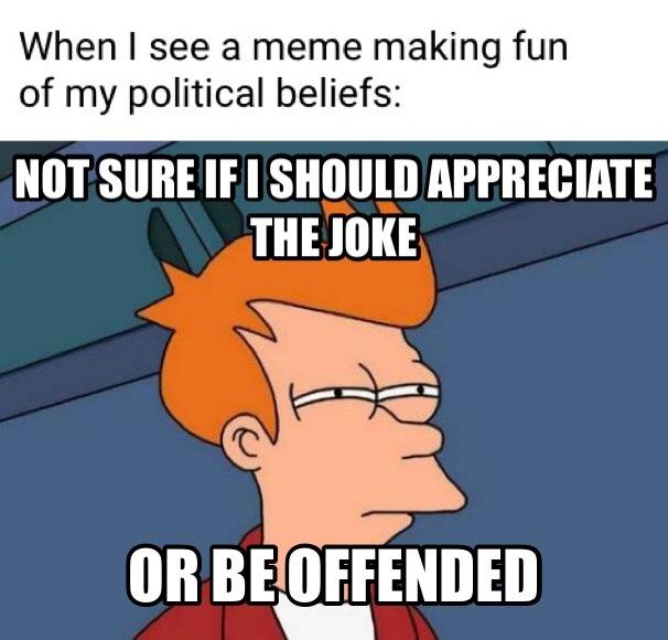 *insert political joke* - meme