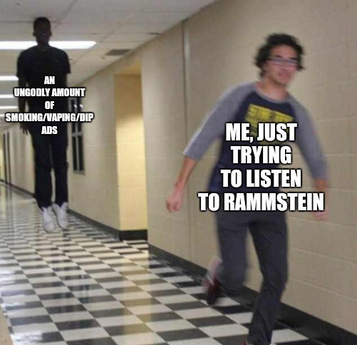 Spotify is horrible unless you have Premium - meme
