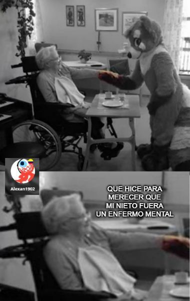 pobre abuela :okey: - meme