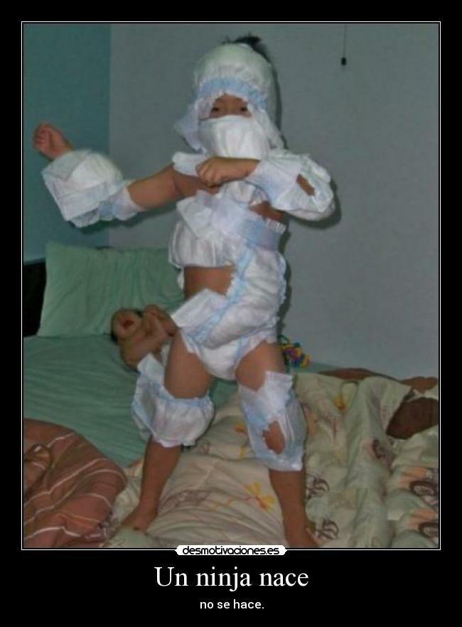 Un ninja en pañales proximamente en cines - meme