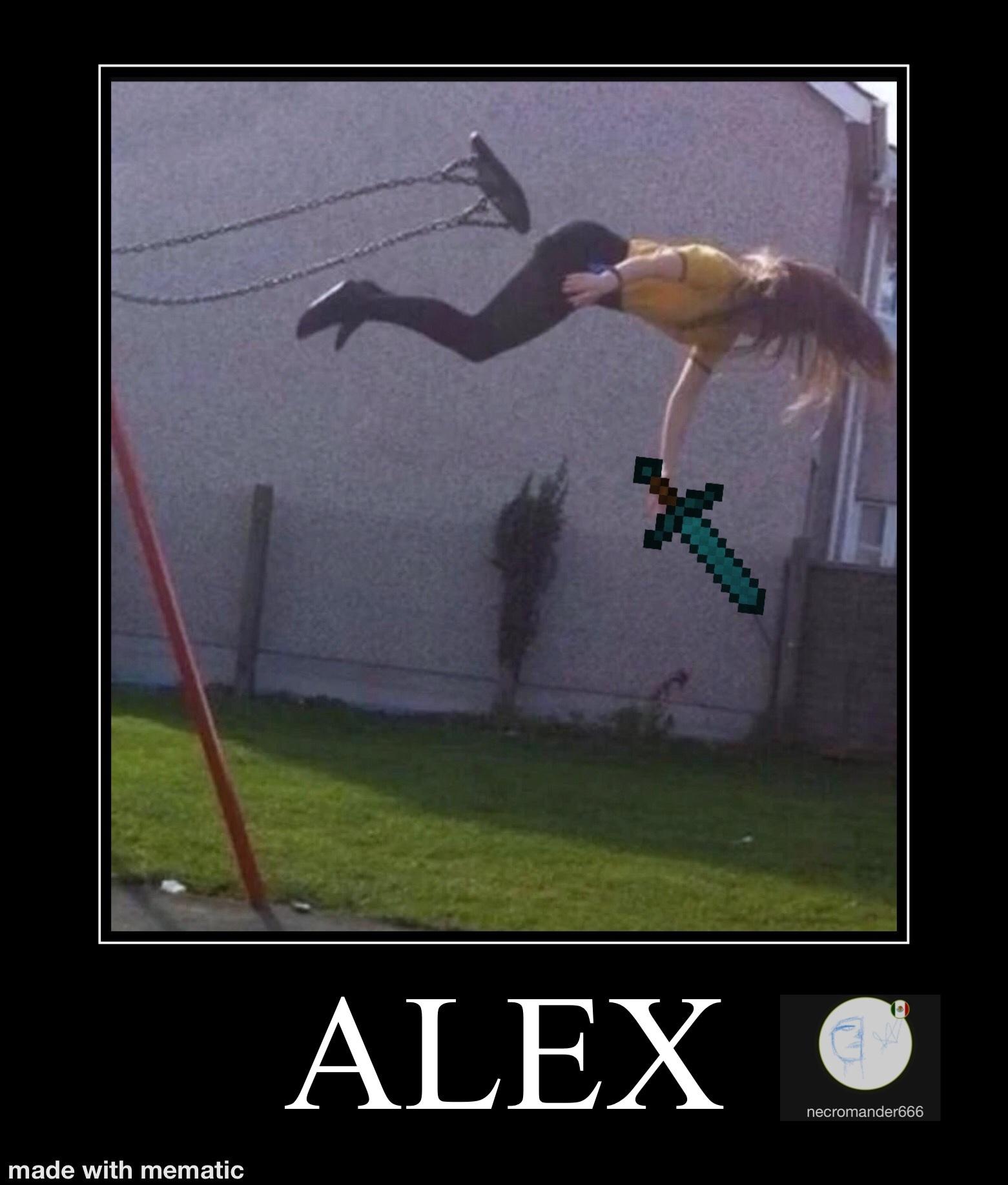Alex - meme