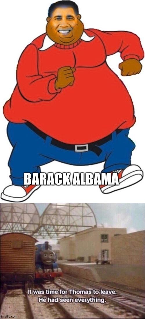 Fat Obama - meme