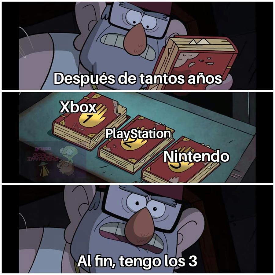 El sueño de todo Gamer - meme