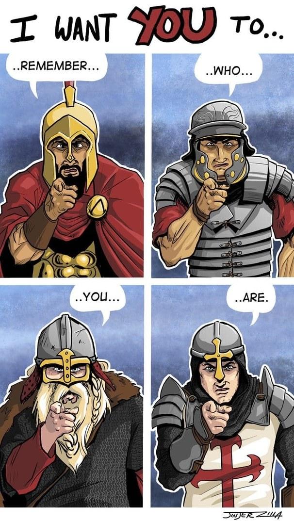 Faith and Power - meme
