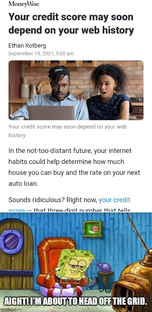 So how much pornhub do you have to watch to not get a loan from a bank? - meme